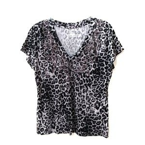 Juicy Couture leopard print top